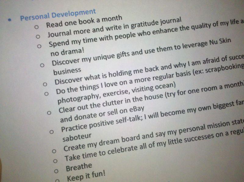 Self improvement goals for teachers