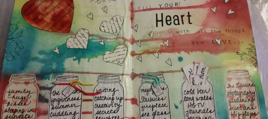 art journaling for children and adults