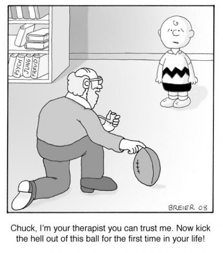 Charlie Brown therapist