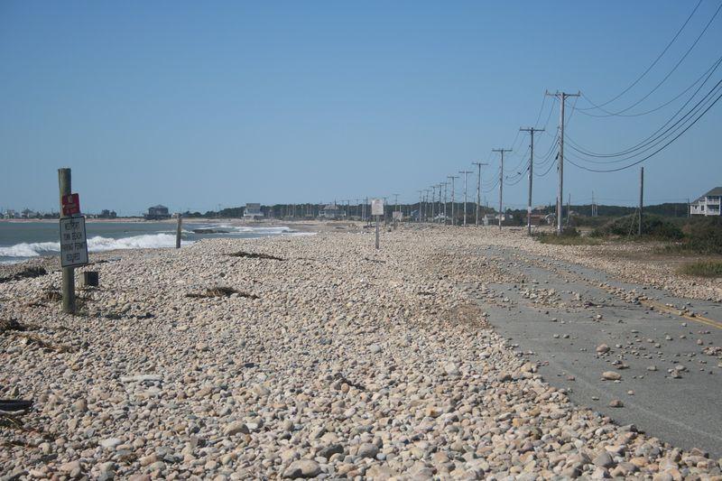 Hurricane Irene storm damage Westport