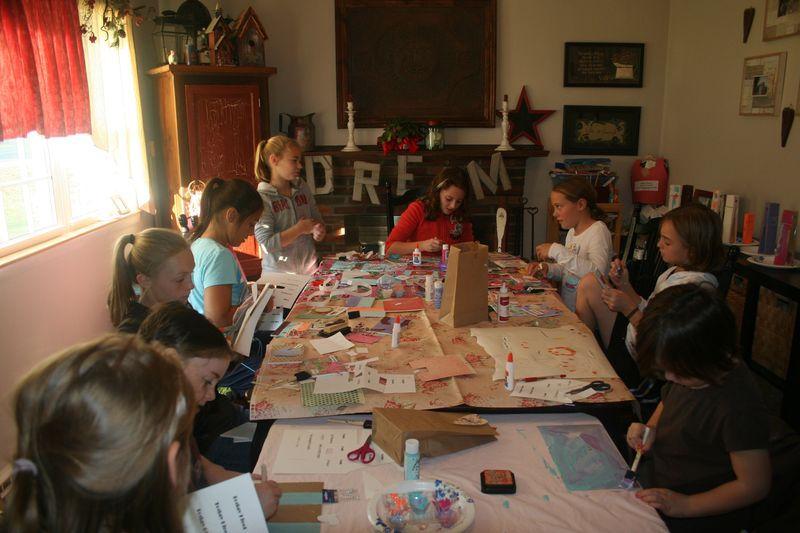 Art class at home