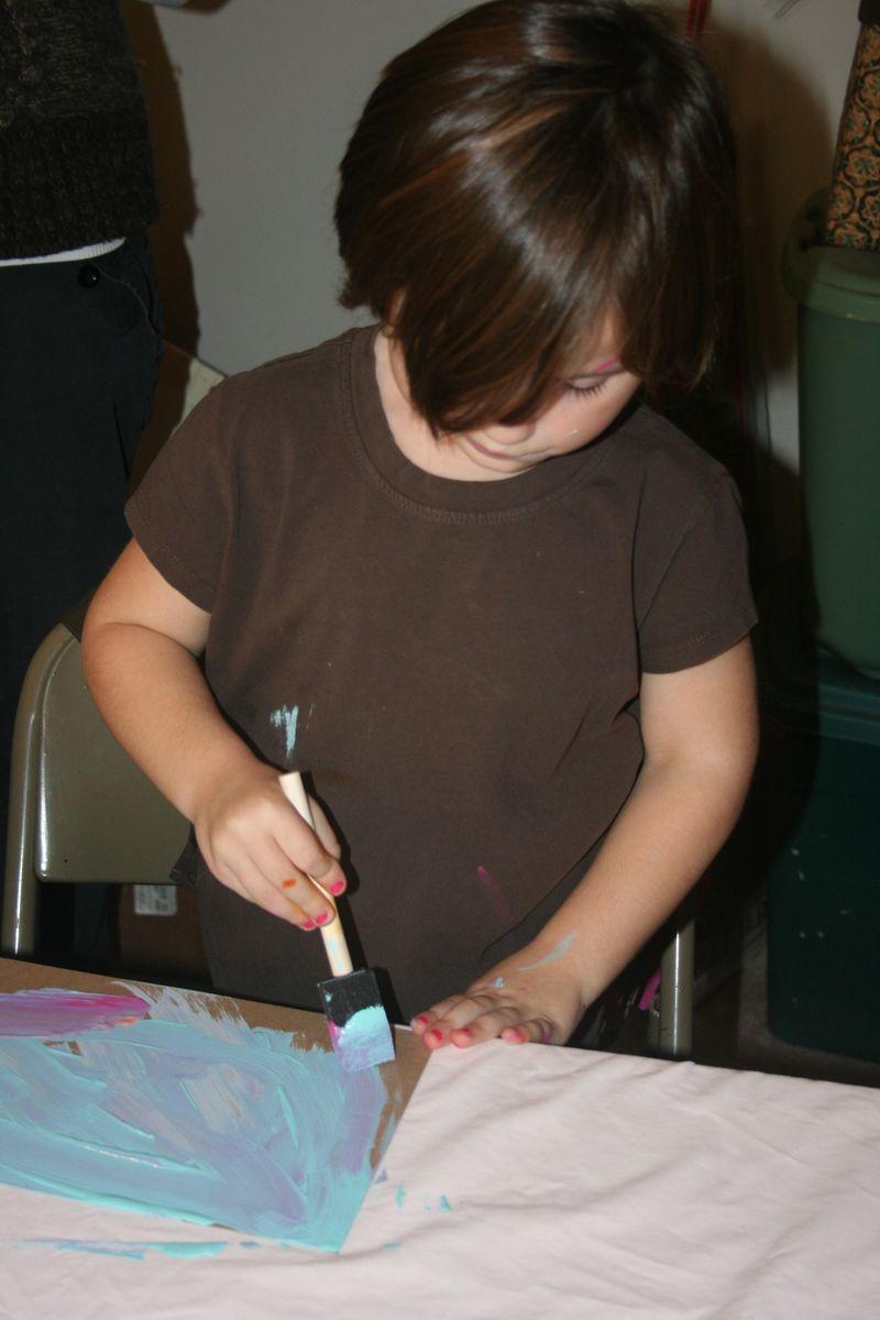 Artistic kid