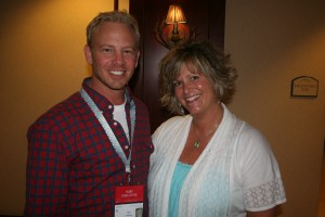 jenn pipe and ian ziering know the power of a nu skin business opportunity