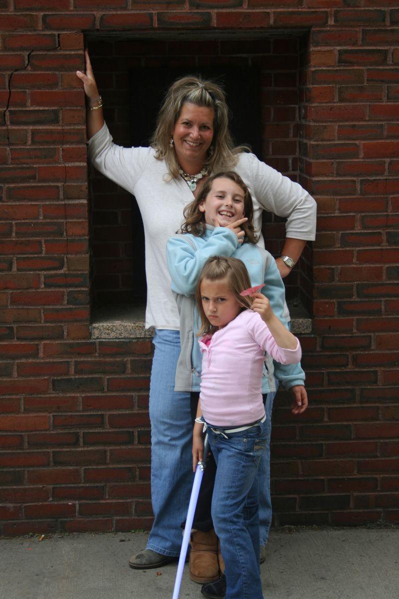 Jenn and kids