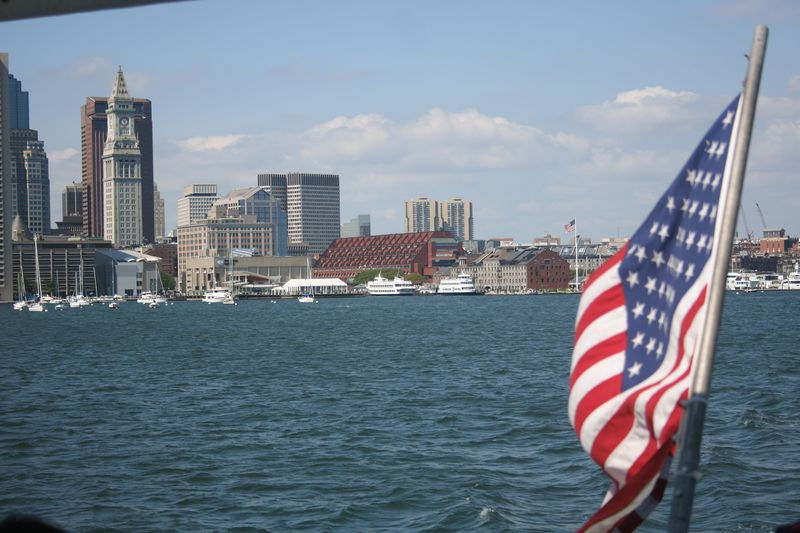 Boston harbor April 2013