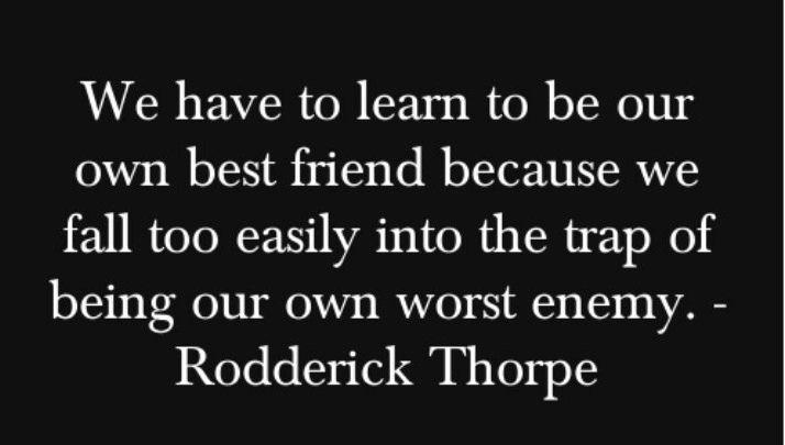 Rodderick Thorpe quote