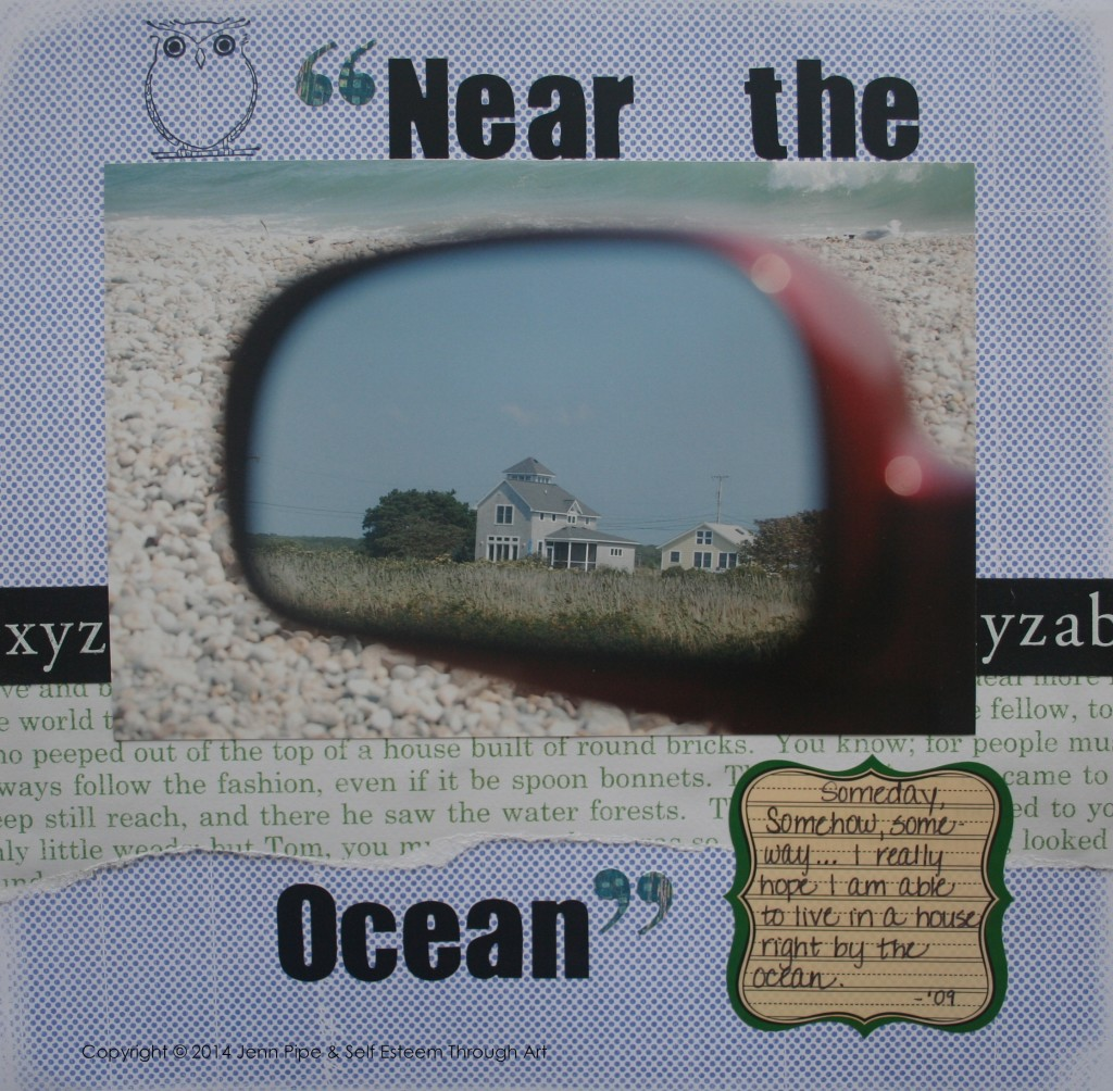 scrapbook by the sea