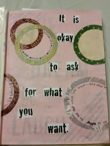 art journaling for teenage girls