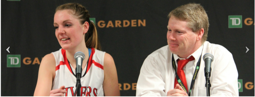 Rivers Beats Nobles at TD Garden