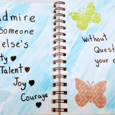 art journaling for girls thursday