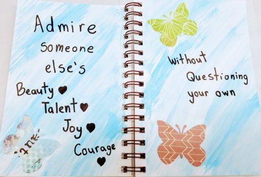 art journaling for girls thursday