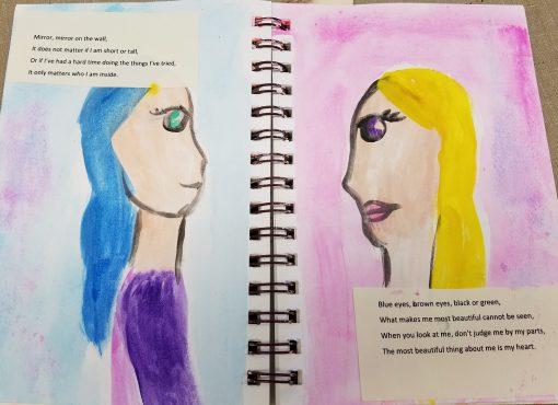 art journaling for girls
